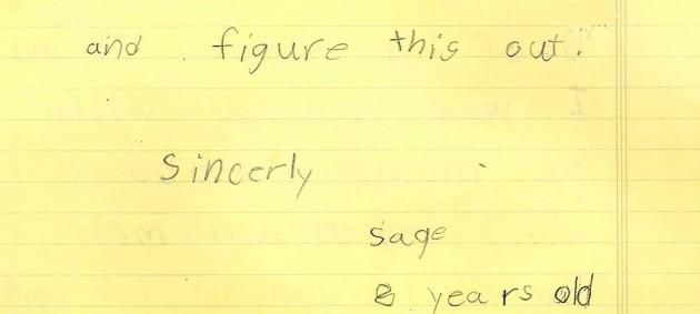Part 2 of Sage Kyle's letter to President Barack Obama