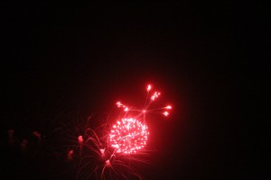 Buffalo Springs Lake Fireworks Extravaganza - July 3, 2015