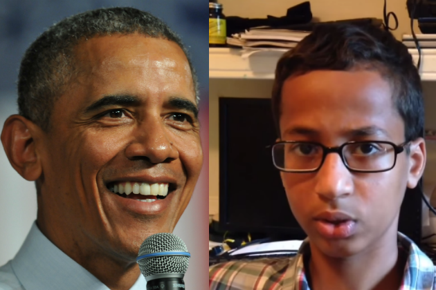 President Barack Obama invites Ahmed Mohamed to White House