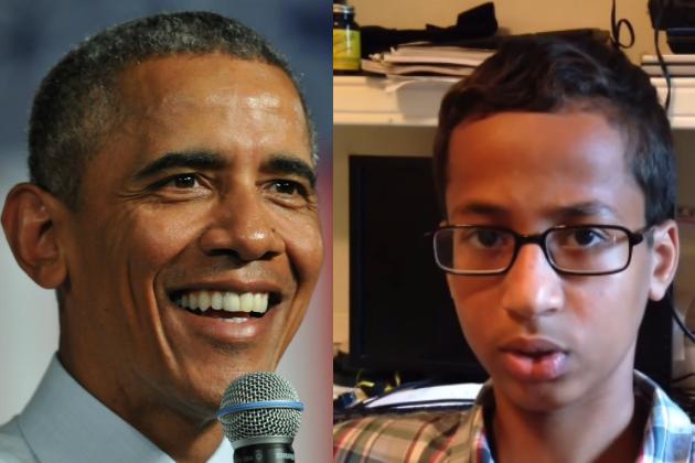 President Barack Obama invites Ahmed Mohamed to White House