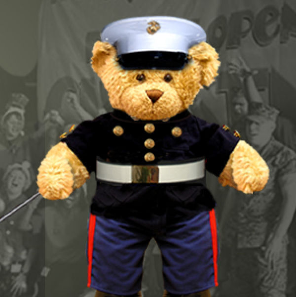Toys For Tots Marine Bear : It s time for the wild west harley davidson toys tots ride